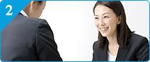 求人情報と転職サポートの2方面からサポートのイメージ