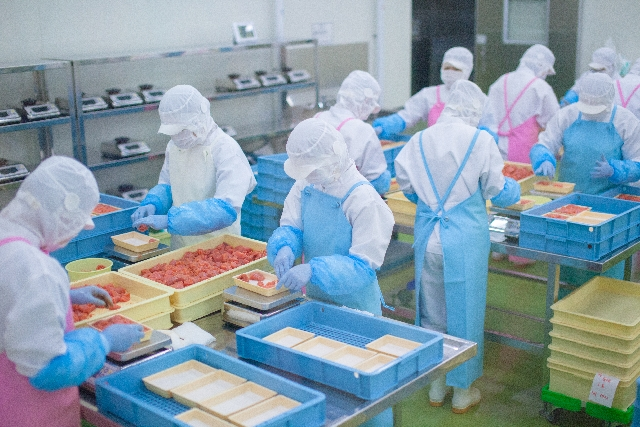 野菜の洗浄、皮むき等の作業 短時間勤務OK!  求人番号3491-01 イメージ