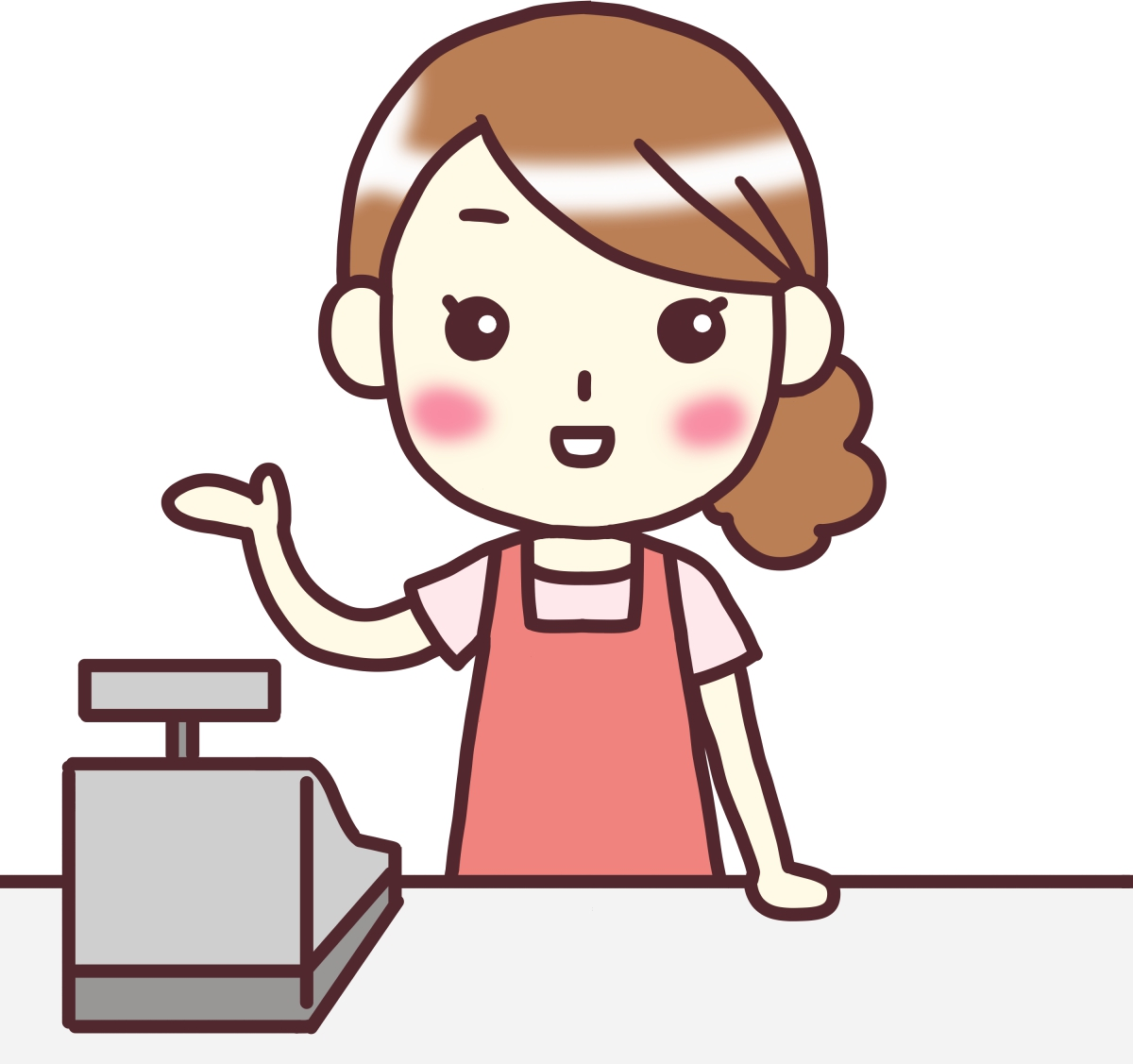 お菓子の販売 イメージ