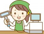 スーパー店内でのレジ業務  求人番号3504-06-01 イメージ
